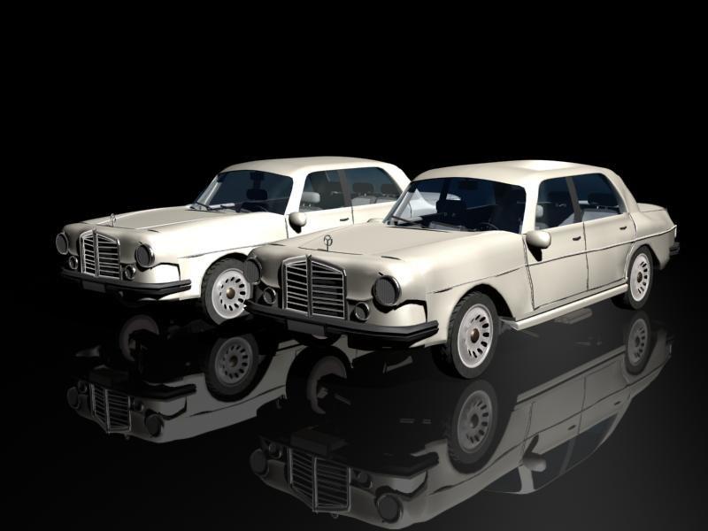 mercedes 3d model