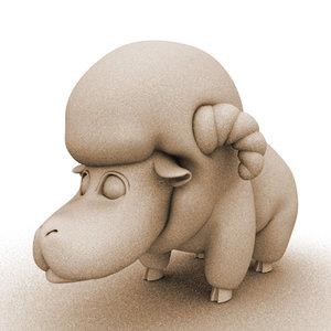 Sheep_plain.c4d