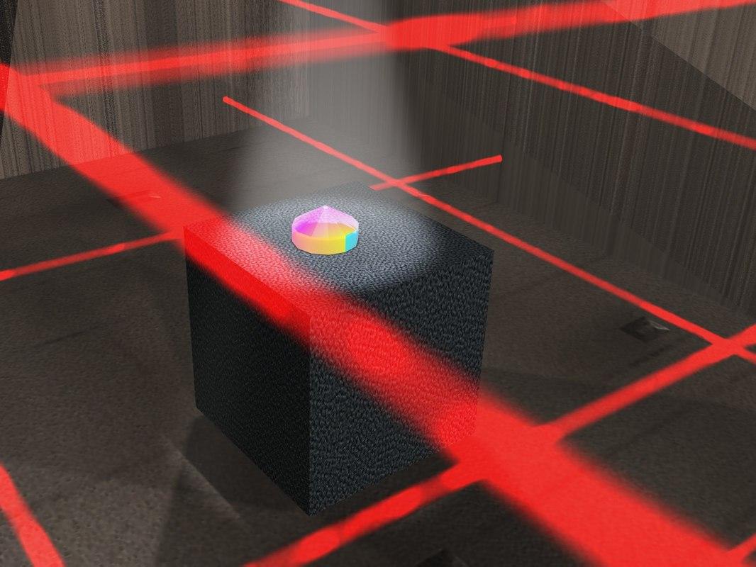 3d diamond lasers