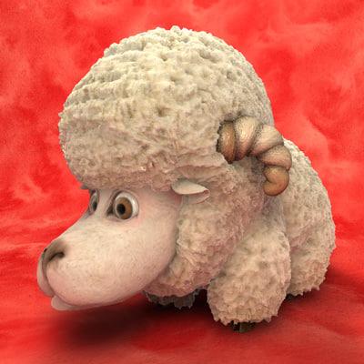 sheep dxf