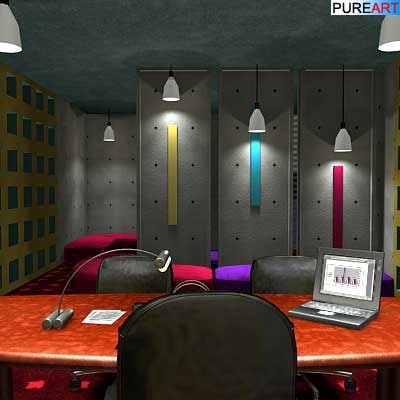 3d model of boardroom office chair furniture