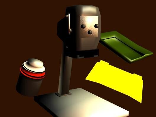 free simple darkroom props 3d model