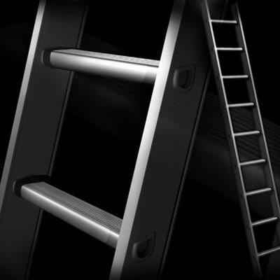 aluminum ladder 3d x