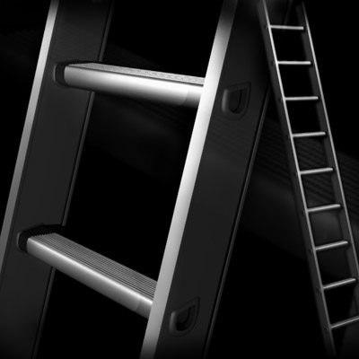 3d model aluminum ladder