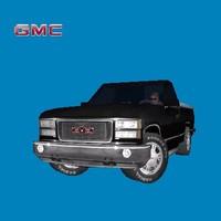 gmc sierra pickup truck 3ds