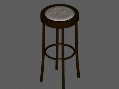 3ds stool