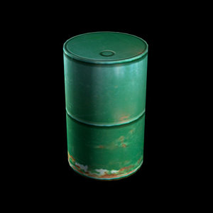 3dsmax industrial drum
