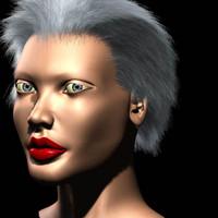 lightwave realistic female head
