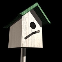 free max model backyard bird house