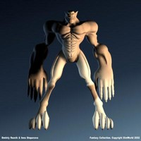 fantasy character gargoile max