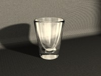 standard shot glass 3d model