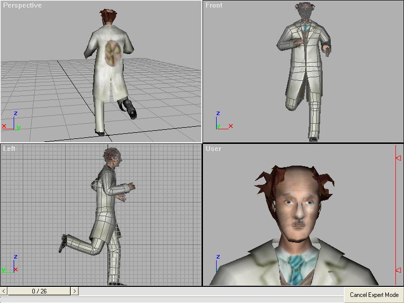 3ds max scientific doctor
