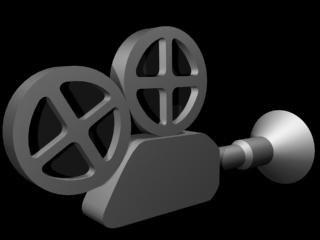film camera 3d model