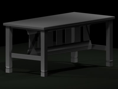 3ds table