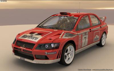 lancer wrc 3d model