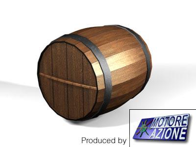wooden wine barrel max