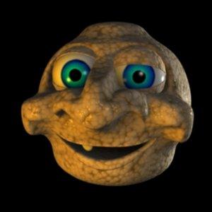 troll head 3d model