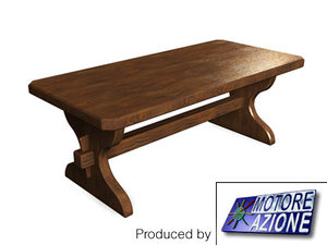 max old wooden table