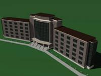 building apartment dormitory obj