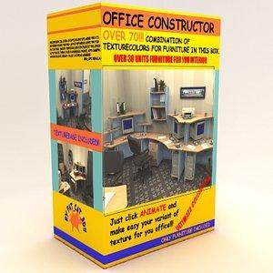 office furniture tables 3d model