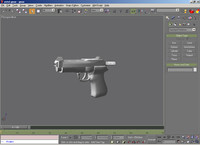 Pistol Model High Detail.gmax