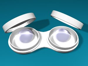 3ds max contact lenses