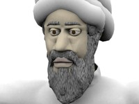 3d model bin laden osama