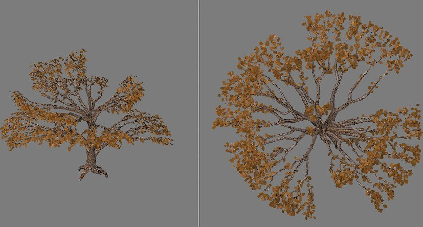 subdivision tree 3ds