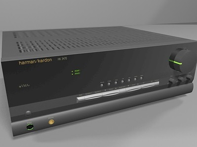 3d model of stereo receiver