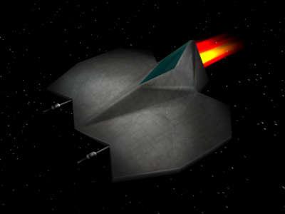 3d c4d spaceship fighter