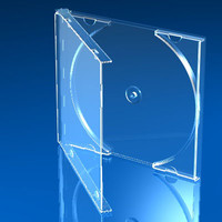 cd jewel case 3d model