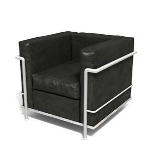 grand confort 3d model