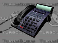 office phone 3d max