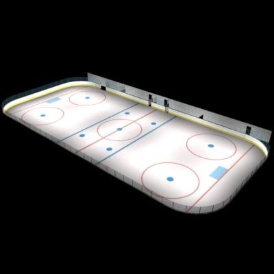 max hockey rink ice