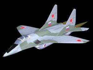 3d mig-29 fighter plane model