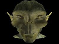 goblin head 3d lwo