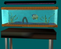 3d model aquarium