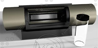 3d model drum scanner