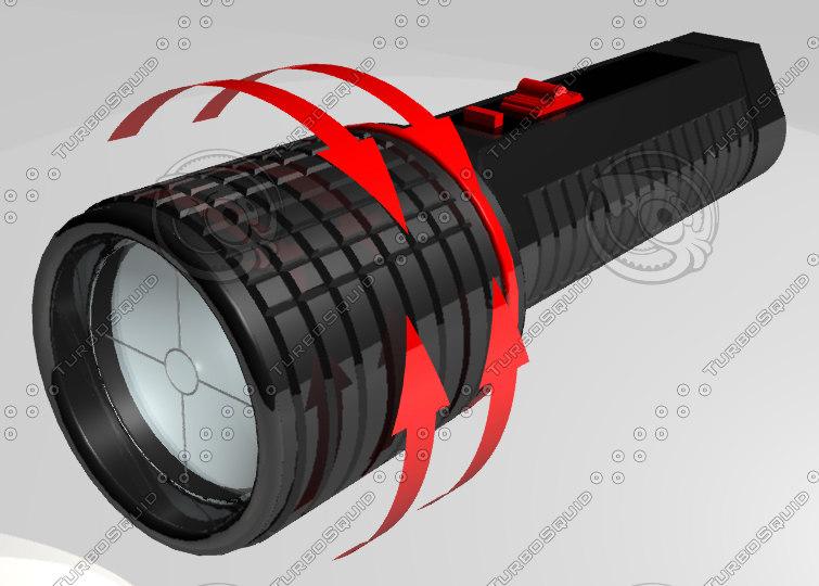 maya flashlight