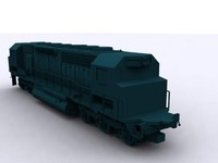train heads reversible 3d model