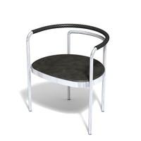 3d model armchair 12