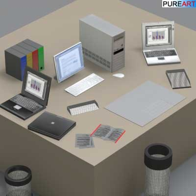 3ds max office furniture ofc1