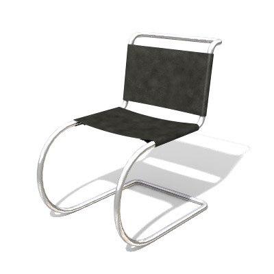 free mr chair mies 3d model
