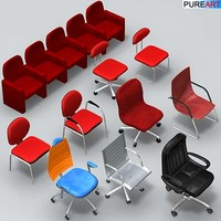 office furniture chairs ofc1 3d model