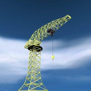 crane building c4d