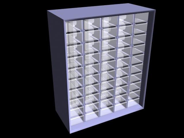 3d parts organizer