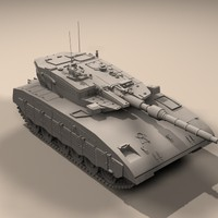 tank destroyer 3d model
