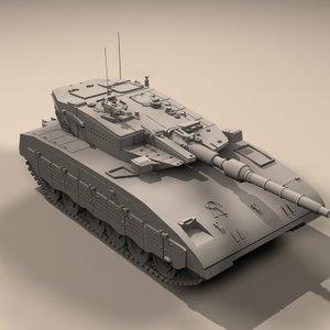 tank destroyer 3d model