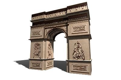 3d arch arc model