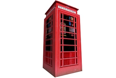 3ds max phonebooth phone
